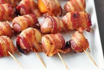 "Did Somebody Say ""Bacon?"" Recipes / Bacon. Need I say more? / by Our Mini Family"
