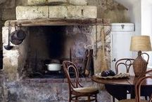 Kitchens in old style