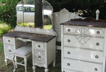 From Forgotten To Fabulous / Painted furniture we have done.