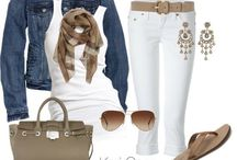 Casual Wardrobe / Casual Looks for Day or Night / by Whimsical Harmony