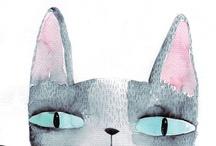 ♥cats♥ilustrados
