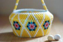 hama beads / by Meike