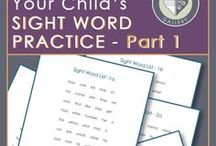 Sight Words / So many ways to teach and learn sight words.