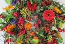 Fall Wreaths For Sale / by Ladybug Wreaths, Nancy Alexander