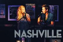 Nashville / The series chronicles the lives of various fictitious country music singers in Nashville, Tennessee starring Connie Britton as Rayna Jaymes, a legendary country music superstar, whose stardom begins fading, and Hayden Panettiere as rising younger star Juliette Barnes.