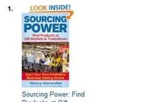 """SOURCING POWER / Nancy's new book, """"Sourcing Power"""" hit #1 Best-Seller status on Amazon Kindle in only 2 days! / by Ladybug Wreaths, Nancy Alexander"""