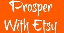 """Prosper With Etsy Intensives! / Students in the Ladybug Wreaths' Etsy Intensives Course are also members of """"Prosper With Etsy"""", our Private  Facebook page.  They have been creating awesome Cover Photos and Shop Icons! Each is doing a beautiful job, and are so excited to make sure their Etsy shops are completely optimized and ready to sell... sell... sell! Click here to read about purchasing Etsy Intensives to optimize your Etsy shop too! www.ladybugwreaths.com/etsy"""