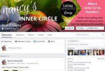 """Nancy's Inner Circle / Best of Nancy is changing and growing!  It is now becoming Nancy's Inner Circle!  I want to give more to each lady in our very special group!  You'll receive my """"Entire Video & eBook Library"""", """"My Secret Vendors"""", and """"Etsy Intensives"""".  Join now to grow the business of your dreams! www.BestofNancy.com"""
