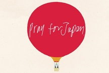 Pray for Japan / Thank you for sending all of your thoughts and pray to Japan. I'll clip and save the print work (especially letterpress prints) from all over the world. / by Yoko Megro / megropress