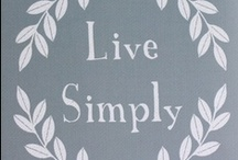 All Things Simplicity-My 2012 One-Little-Word