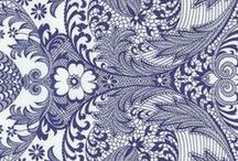 Pretty prints / soft, dark, pattern, geometrical...