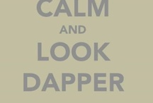 Dapper Dan / handsome, classic, preppy, with a twist...