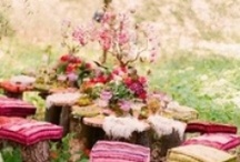 Mila's First / mila's first birthday party...fairy garden party