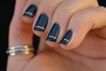 make-up and nail