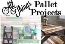 All Things Pallet Projects / Any and everything you can do with pallet wood!