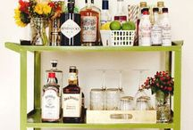 | at home bar | / Why leave the comforts of your home to attend the most stylish and well-stocked bar in town.
