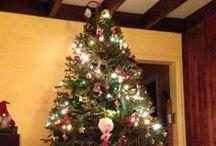 Arbre de Noël et ses personnages / Notre arbre de Noël 2013 / by Michelle Blanc