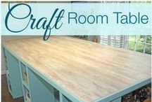 All Things Craft Room/Office / Where women create... / by Robin AllThingsHeartandHome