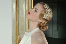 | vintage | bridal hair inspiration | / Our constantly updated board of the most beautiful vintage bridal hair.  Bridal hair inspiration Wedding hair inspiration Wedding makeup Wedding hair Wedding hairstyles  Vintage wedding hair Vintage wedding hairstyles