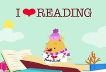We ♥ Reading! / We love reading! Celebrate all things bookish with these amazing activities, articles, and more. / by Education.com