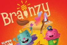 Brainzy / The Brainzy math and reading program helps kids 3-7 develop a lifelong love of reading and math by making skills practice fun. With a cast of lovable characters, Brainzy reinforces the math and reading skills teachers say are most important for early learners. / by Education.com