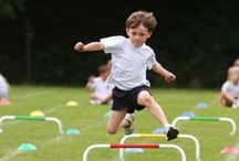 Get Moving! / Try some of these active games, exercises, and activities with your child for fun and fitness! These activities not only help your child maintain his physical health, but they also help him stay focused, emotionally balanced, and self confident. Celebrate what your body can do with these exercises, and get moving! / by Education.com