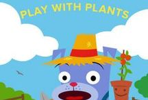 Play with Plants / Welcome to Summer Learning Adventures! Join us this summer for free activities, projects, and games for DIY campers and parents. Get back to nature at DIY camp with these plant-centered activities for future gardeners! Grow all kinds of unique plants—you won't believe the tricks they can do! Learn more here: http://edcate.co/1tUg6sU / by Education.com