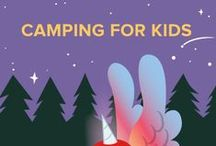 Camping for Kids / Welcome to Summer Learning Adventures! Join us this summer for free activities, projects, and games for DIY campers and parents. These camping activities, crafts, and games help your child participate in camping activities, even if he's just in your backyard. Learn more here: http://edcate.co/1tUg6sU / by Education.com