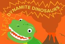 Dynamite Dinosaurs / Welcome to Summer Learning Adventures! Dinosaurs rule DIY Summer Camp with activities all about our favorite prehistoric friends. Get your child to excavate some homemade fossils, write silly dino poems, and eat breadstick bones. Learn more here: http://edcate.co/1tUg6sU / by Education.com