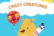 Crazy Creatures / Welcome to Summer Learning Adventures! Make a balloon, a potato, and a sock into a group of new friends with these activities for Crazy Creatures week! DIY campers can use their arts and craft skills (plus a little imagination!) to turn household objects into charming dolls, stuffed animals, sculptures, and more. Learn more here: http://edcate.co/1tUg6sU / by Education.com