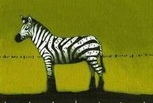 Zebras / Animal art & illustration