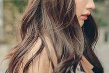 스킨가발 (Full wig) / 내 머리색, 기장과 상관없이 180도 변신이 가능한 스킨(전체) 가발