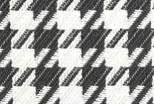 Classic Patterns / #classicpatterns #patterns #houndstooth #chevron #plaid #checkerboard #strie #madras