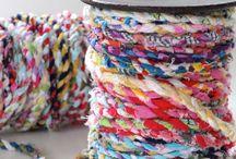 Yarn, needles, scissors