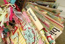 Cut. Glue. Paper. Scrap! / scrap book.  journals. art. other paper crafts.