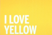 Shades of Yellow ♥♥♥♥ / by Raquel Candanedo-Luciano