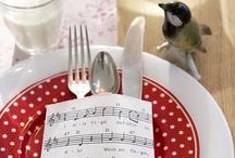 Decorazioni per la tavola - Table decoration / Idee su come apparecchiare e decorare la tavola per feste e occasioni speciali.