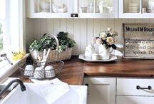 HOME: kitchen / Kitchen design and decor ideas / by Karla Marie