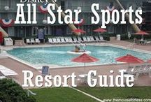 Disney's All-Star Sports Resort #ASSp - Walt Disney World Resort Tips, Discounts & Information / A Walt Disney World Value Resort. Stay in the magic! Check out the resort rates, room types & room views , maps & room layouts.  Discover on-site resort benefits like Extra Magic Hour, FastPass+, MyDisneyExperience and so much more.  Learn more about discounts, dining menus, restaurants, pools, kid's activities and other recreation information.