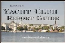 Disney's Yacht Club Resort Walt Disney World Resort Tips, Discount Codes & Information / A Walt Disney World Deluxe Resort. Stay in the magic! Check out the resort rates, room types & room views, maps & room layouts.  Discover on-site resort benefits like Extra Magic Hour, FastPass+, MyDisneyExperience and so much more.  Learn more about discounts, dining menus, restaurants, pools, kid's activities and other recreation information.  swim in Stormalong Bay - an awesome mini water park at this resort.  Walt to Epcot too.