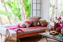 HOME: sunroom & porch / Inspiration for enclosed porch spaces, sun rooms, and outdoor decks. / by Karla Marie