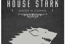 WINTER IS COMING / Game of Thrones / by Emily E. Eddens