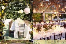 WEDDING: outdoor ceremony & reception / by Karla Marie