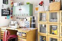 KOTI - työhuone / ideoita // sisustus // retro // vintage // tulevaisuuden koti