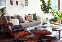 KOTI - olohuone / ideoita // sisustus // retro // vintage // tulevaisuuden koti