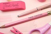 Stationery Love / I love stationery! Pens, pencils, tape, string, staples, glue, paper- you name it- I will find a use for it! / by Nikki McWilliams