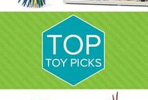 Top Toy Picks / We've sorted through countless toys and chose our best-of-the-best. Browse our top gift picks here. / by Creative Kidstuff