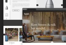 Webdesign / UI Design / Great looking websites that I see as inspiration.