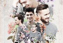 One Direction / by Crystal Black