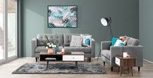 Lounge / Create the perfect lounge room with lounges and sofas from Super Amart.